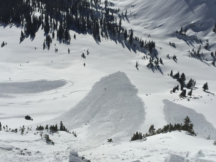 1/26. Explosive triggered persistent slabs at Irwin.