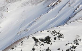 Crown of Mt. Baldy slide